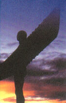 Angel of the North at Gateshead